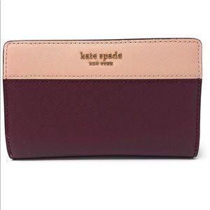 Kate Spade Cameron Slim bi-fold Wallet.